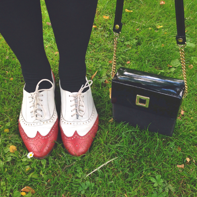 vintage shoes and vintage bag