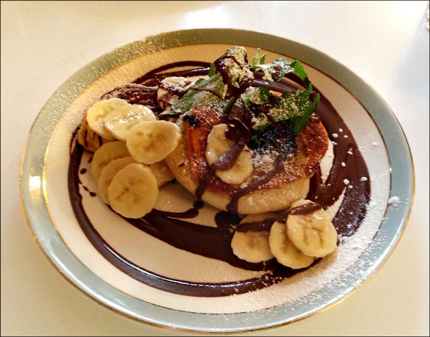 Brunch Kalaset Banana pancakes