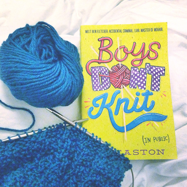 book review of boys don't knit (in public)