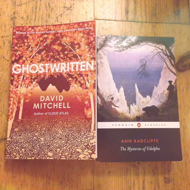 ghostwritten and the mysteries of udolpho