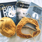 Currently Reading & Knitting – Halloween Edition