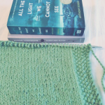 Currently Reading and Knitting, #2