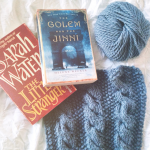 Currently Reading & Knitting, #3