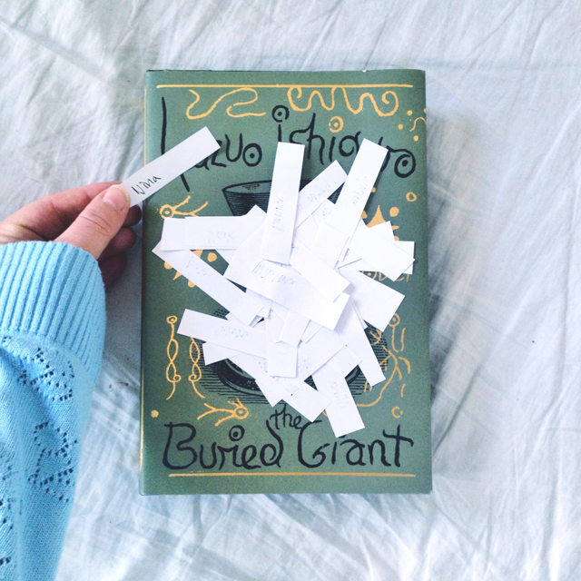 Give away winner - the buried Giant
