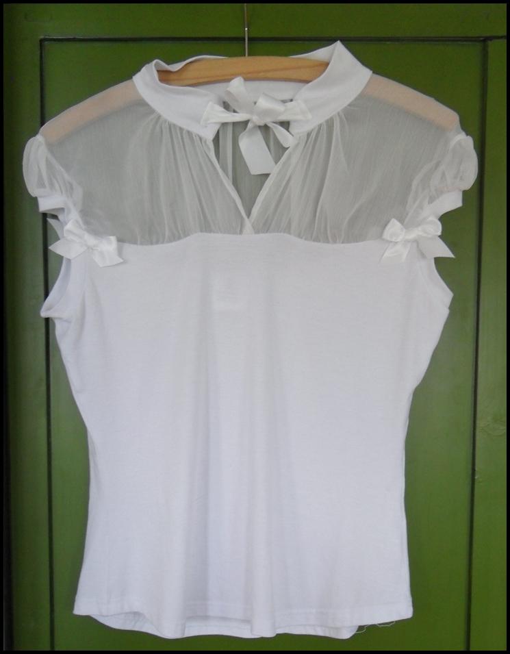 Hvid skjorte fra Mondo Kaos