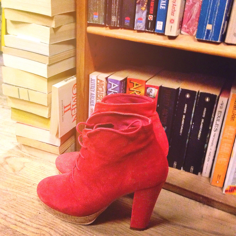 samsø samsø red boots