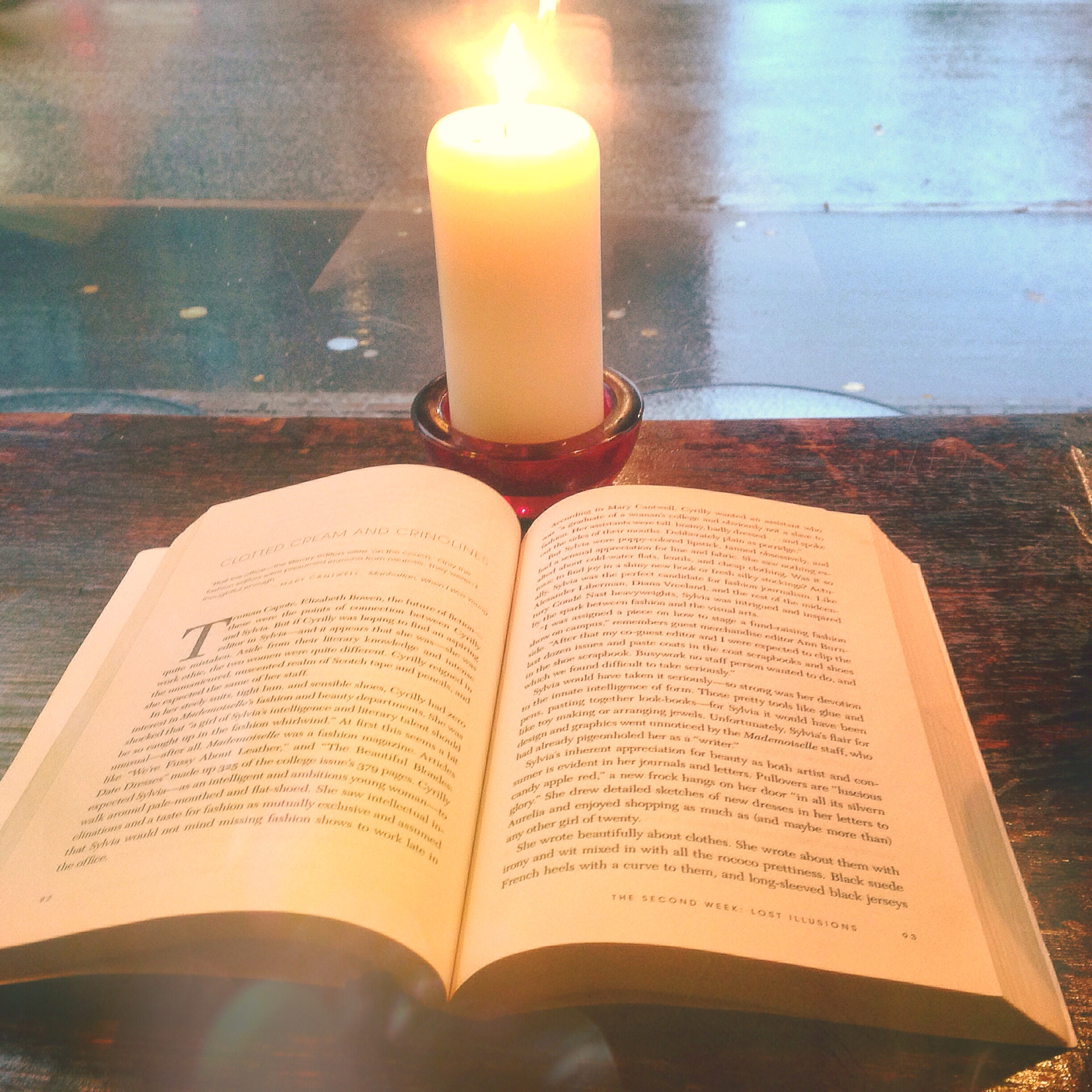 reading candle