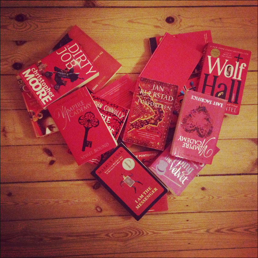 red books heart