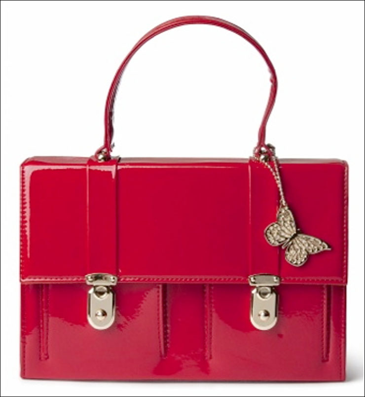 Lipstick Red Handbag