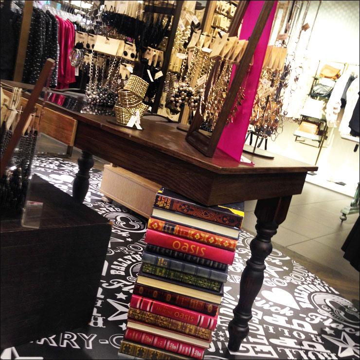 books and fashion