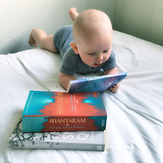 Books and baby