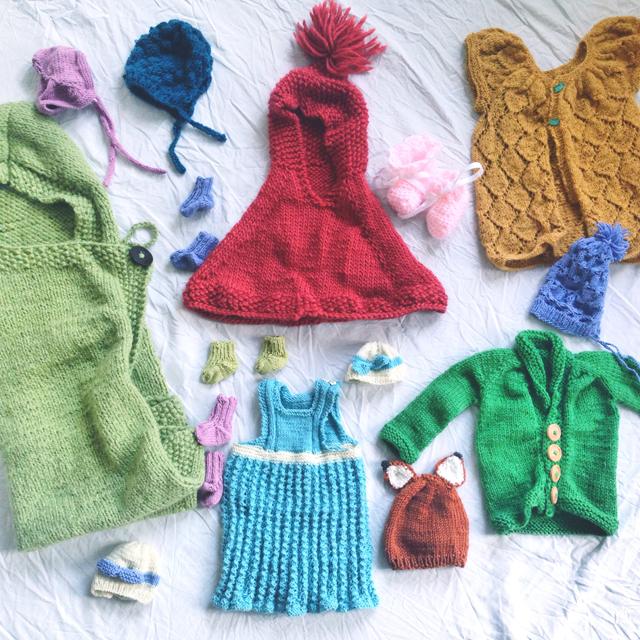 Baby knit free pattern