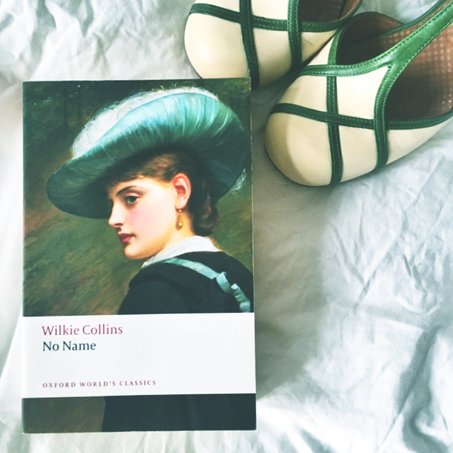 no name by wilkie collins and shoes by Chie Mihara