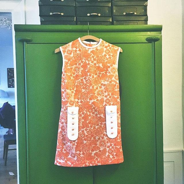 vintage 60'er kjole