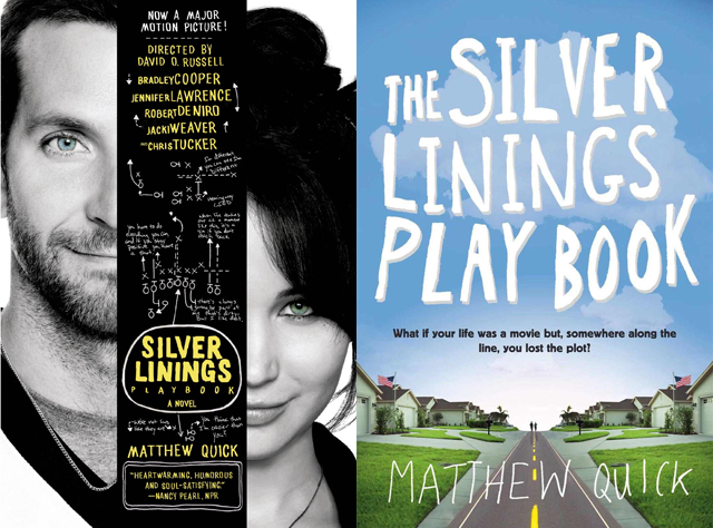 Silver Linings Playbook book covers
