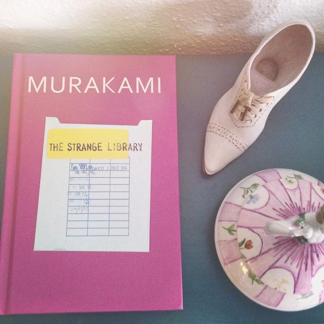 Murakami the strange library review