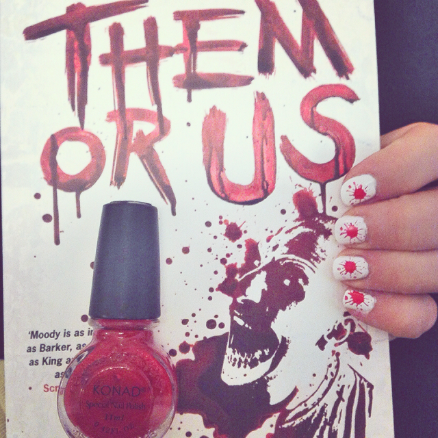 horror and bloody nails