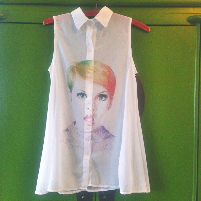 twiggy shirt