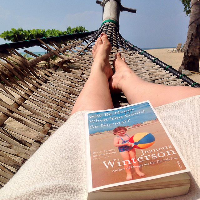 Why Be Happy When You Could Be Normal - beach read