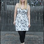 Black and White Summer Dress