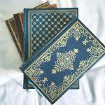 Flotte bøger: de gamle læderindbundne