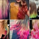 So Last Year Next Year: Dip-dye hair color