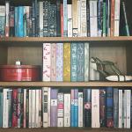 Så er bøgerne på plads